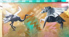 Ποια η #σχέση του πελαργού με τον ιπτάμενο μονόκερο; #Βαλκάνια #Ελλάδα #Ελλάς #Πελοπόννησος #Άργος #Έλληνες #Έλληνας #ελληνικό #ελληνικά #ελληνικός #τέχνη #ζωγραφική #οδός #Καποδιστρίου #πελαργός #μονόκερος Moose Art, Painting, Animals, Animales, Animaux, Painting Art, Paintings, Animal Memes, Painted Canvas