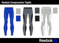 Reebok Running Collection on Behance Mens Running Tights, Mens Tights, Sport Tights, Sport Pants, Dress Design Sketches, Fashion Design Sketches, Mens Activewear, Sport Wear, Reebok