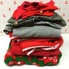 Joulun ompeluksia.