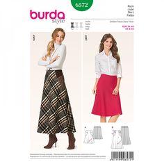 Jupe n°6572 - Collection Burda Automne/Hiver 2016
