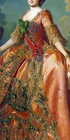 .Maria Feodorovna, portrait by Alexander Roslin (1718–1793)