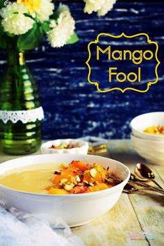 Luscious mangoes, condensed milk and  whipping cream are all you need to whip up this wonderful Mango Fool. The best ever summer dessert. Do give this a try. #yummyfood #mangorecipe #summerdessert #easyrecipe #pinwin #pinterestinspired #pinterestindia #refinedsugarfree via @lubnakarim Mango Recipes Indian, Indian Food Recipes, Ethnic Recipes, Halal Recipes, Great Recipes, Vegetarian Recipes, Favorite Recipes, Summer Desserts, Summer Recipes