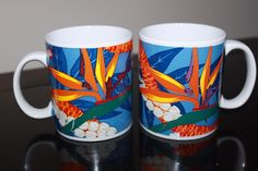 1999 Hilo Hattie Hawaii Paradise Bird Island Heritage Mugs The Store of Hawaii  #DoesNotApply