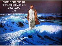 Resultado de imagem para mas a voz do Senhor nas alturas é mais forte que as grandes ondas do mar