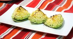 [ made this + tasty + easy + #simplefood ] roasted green cabbage