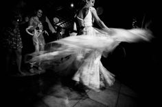 The Story Behind the Flying Wedding Dress: Marie & Pedro