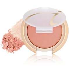 Jane Iredale PurePressed Blush in Whisper | Product Review, Swatches #review #cosmeticmonster