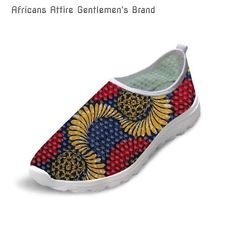 African Traditional Breathable Mesh Sneakers Women-Many Colors
