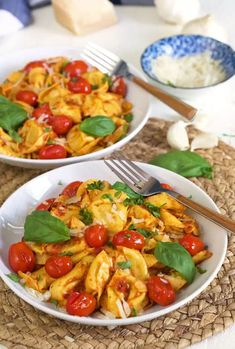 Cheese Tortellini with Sun Dried Tomato Pesto is an easy dinner that's bursting with rich Italian flavors! Delicious cheese tortellini is tossed in a homemade sun dried tomato pesto that features ingredients like toasted pine nuts, garlic, and parmesan cheese. This flavorful pasta dinner is sure to satisfy everyone at the table! Cheese Tortellini with […] Easy Casserole Recipes, Pasta Recipes, Soup Recipes, Dinner Recipes, Sausage Casserole, Luxury Food, Cheese Tortellini, Dinner Is Served, Sausage Recipes