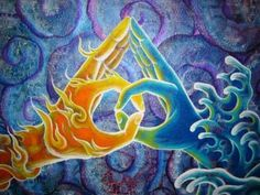 ☯☮ॐ American Hippie Bohemian Psychedelic Art ~ Twin Flame