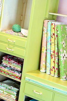 Fabric by Amelia, via Flickr