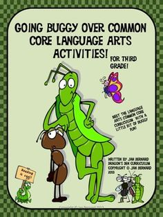 "Get a little ""buggy"" as you reinforce the common core LA standards with these activity sheets covering one month (20 sheets) of practice for your students. Activities cover literature and informational text, language skills, writing and foundational skills. Your students will learn a little about insects and spiders with this packet, as they improve their common core skills. It is perfect for test prep or daily practice! $"