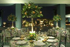 ¿Has estado alguna vez en una boda decorada con Naranjos?