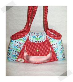 ♥ BelleAnna ♥ E-Book Anleitung ♥ Tasche ♥  von KlaraKlawitter® auf DaWanda.com