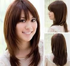 Hasil gambar untuk korea hair style for short hair for wedding