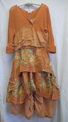 From Kati Koos - Krista Larsen ensemble in printed silk