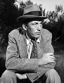 John Huston, film director, screenwriter and actor. He wrote the screenplays for most of the 37 films he directed. He received many Golden Globe Awards and many others for best director.