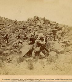 Image » Archive » Boer-War-Worcesters-Skirmishing-With-Boers-Near-Colesberg-On-Feb-12th-the-Boers-Drove-Them-Back-Full