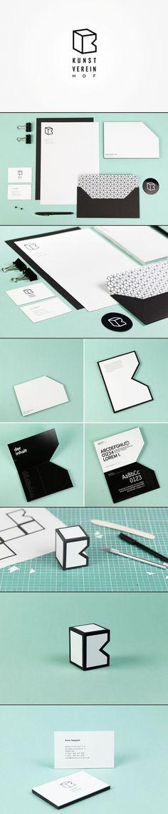 Kunst Verein HOF Branding