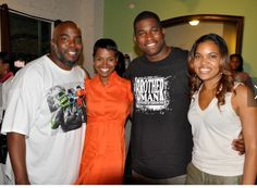 Rashan Ali, Griff, David Banner with Tracy Nicole at The Green Room in support of her a Perfect Peach Journey Workshops.  The panel discussion about saving out young girls to benefit self-esteem workshops.