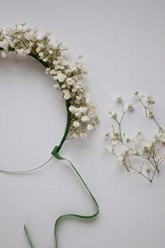 diy #coronaflores para ninas DIY flower crowns for little girls