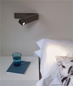 Adjustable LED Bedside Reading Light - 4 Finishes