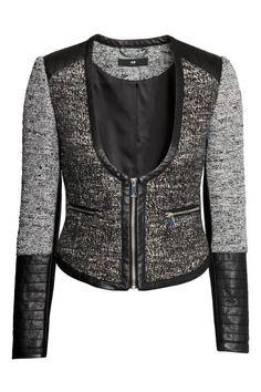 Chaqueta tejido estructurado | H&M