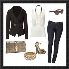 Love this outfit! :-) My fave is that jacket!