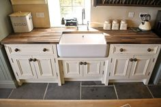 20 Wooden Free Standing Kitchen Sink | Future Projects | Pinterest ...