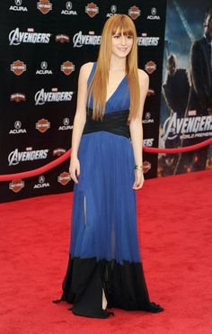 7 years of Bella Thorne's red carpet fashion—Marvel Studios' 'The Avengers' Premiere at the El Capitan Theatre, April 2012