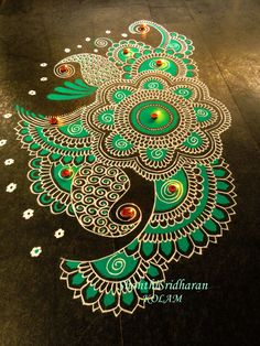 Below we have gathered some of the best Rangoli designs and ideas Diwali and ideas to inspire you. Rangoli designs for Diwali 2017 Rangoli Designs Latest, Latest Rangoli, Rangoli Designs Flower, Colorful Rangoli Designs, Rangoli Designs Diwali, Rangoli Designs Images, Diwali Rangoli, Flower Rangoli, Beautiful Rangoli Designs