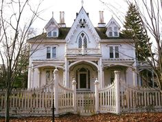 Gothic revival home, ca. 1840 Thompson Connecticut