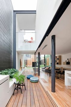 Contemporary Terrace Extension to Victorian-Style Bridport Residence in Australia - http://freshome.com/2015/02/27/contemporary-terrace-extension-to-victorian-style-bridport-residence-in-australia/