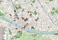 old city must do sights main landmarks great spots most popular locations santa maria del fiore Florence top tourist attractions map