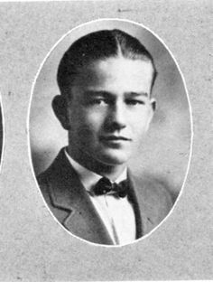 JOHN WAYNE  High School Yearbook