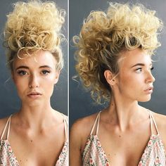 Updos are formal but they can also be fun. Messy styles and fabulous braids have been around for a while now but the latest updo trend is the mohawk. That's right, the mohawk updo is …