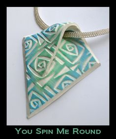Excellent Free of Charge Clay pottery jewelry Popular Helen Breil Designs – Textur Briefmarken – Jewelry making supplies – Ceramic Pendant, Ceramic Jewelry, Ceramic Beads, Ceramic Clay, Porcelain Jewelry, Fine Porcelain, Polymer Clay Kunst, Polymer Clay Projects, Polymer Clay Creations