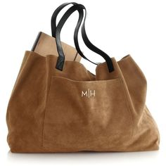 Suede Boho Bag ($149) ❤ liked on Polyvore featuring bags, handbags, bohemian bag, suede purse, carryall bag, brown suede handbag and boho bag