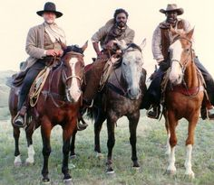 "Reginald T. Dorsey:  ""RETURN TO LONESOME DOVE"" JON VOIGHT, REGINALD T. DORSEY AND LOUIS GOSSETT JR.    IT WAS A PLEASURE WORKING WITH ""TWO ACADEMY AWARD WINNING"" ACTORS"
