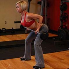The Essential Exercises That Will Get You Ripped. In this picture: Reverse Grip Bent-Over Rows Workout Guide, Workout Videos, Nicole Wilkins, Build Muscle Mass, Muscle Building, Cardio For Fat Loss, Bent Over Rows, Back Exercises, Workout Exercises