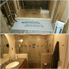 Before and After Bathroom remodel BPKELCO-Boston Area