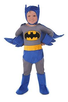 [halloween batman costumes kids] Princess Paradise Baby Batman Cuddly Costume, Blue, 18 Months 24 Months -- Read more at the image link. (This is an affiliate link) Dc Comic Costumes, Batman Costumes, Cute Costumes, Super Hero Costumes, Costume Ideas, Toddler Batman Costume, Diy Superhero Costume, Toddler Boy Costumes, Wholesale Halloween Costumes