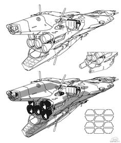 Sparth - a spaceship experiment. am i going to love line stuff? it looks like it.