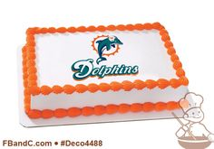 Deco4488 | NFL MIAMI DOLPHINS PC IMAGE | Football, sports, team, logo.