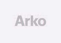 Arko Logotypee. Bronze 2015 best awards. We paired a rock-solid geometric identity with a hyper-real photography style. Contrasting inks and printing techniques on white, black and grey paper stocks reflect the textured detail and variation in Arko's complex concrete work. With this distinct identity carved out, we created a printed portfolio and website, both of which now make up core marketing tools for Arko.