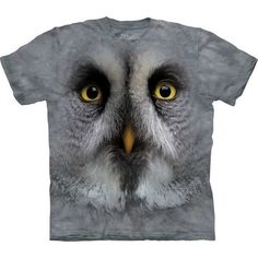 Great Gray Owl Face Tee Youth