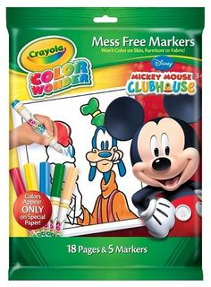 Crayola Color Wonder Markers And Coloring Pad