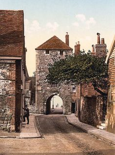 Westgate, Southampton, England The Austens stayed in Southampton until 1809 - I worked near here 2005 to 2011 and much of the old walls remains - worth a wonder down the road.