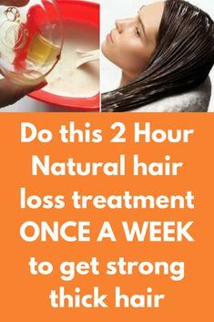 Do this 2 Hour Natural hair loss treatment ONCE A WEEK to get strong thick hair Thick and strong hair is what every woman wants. So, I am sharing a home remedy to get thick and shiny hair naturally. This hair treatment will repair your hair and will make your hair stronger. It will help to arrest hair fall problem, split ends and will stimulate hair growth. Ingredients you will...