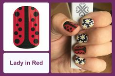 Jamberry Nails | Lady In Red